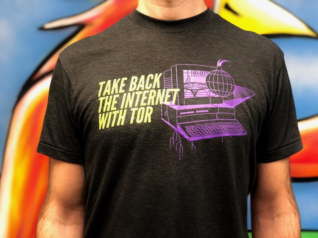 Take Back the Internet with Tor - t-shirt
